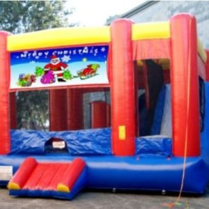 CHRISTMAS SANTA COMBO JUMPING CASTLE – NEW! NEW!