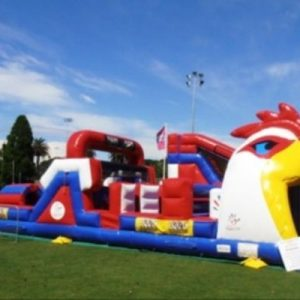 The Rooster Obstacle Course